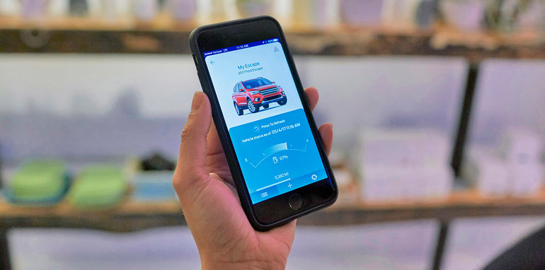 FordPass® enables 2017 Ford Escape owners to use available SYNC® Connect to stay in contact with their vehicle.