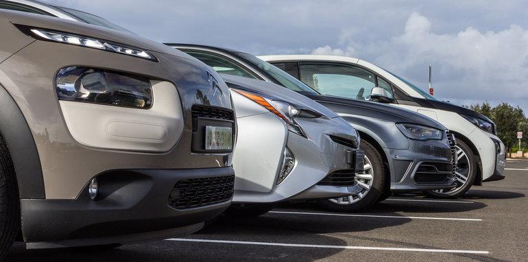 Eco-Test Urban loop - Audi A3 e-tron v BMW i3 v Citroen C4 Cactus v Toyota Prius-52