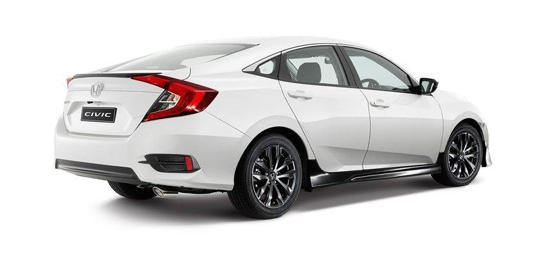 2016 Honda Civic Black Pack Option Unveiled