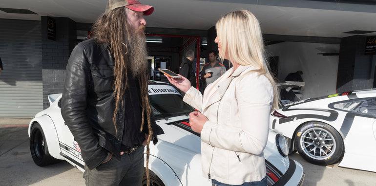 during the Porsche RENNSPORT Australia, in Sydney, Australia, April 29, 2016.