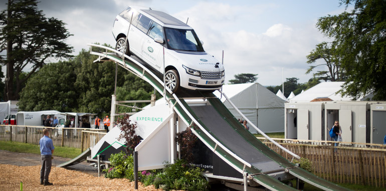 Trade Stands Goodwood Festival Speed : Goodwood festival of speed report