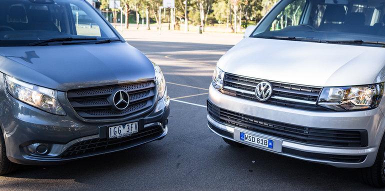 2016 Comparison Volkswagen Caravelle V Mercedes Valente-72