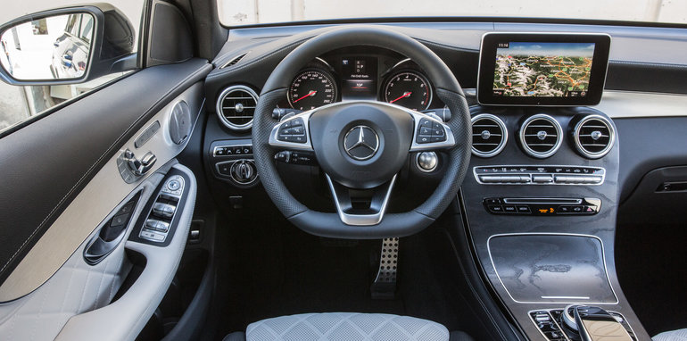 2016 mercedes benz glc coupe priced from 77 100 update for Artico interieur