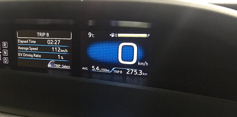 2016 Toyota Prius Syd to Melb_05