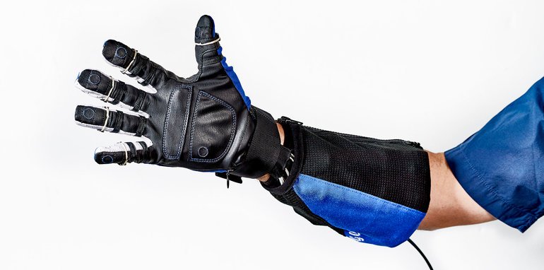 GM-NASA Space Robot 'Power' Glove Finds New Life on Earth