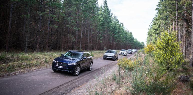 2016 Luxury SUV Comparo_Range Rover Sport V Jaguar F Pace V Porsche Cayenne V Volvo XC90 V BMW X5 V Audi Q7 V Lexus RX350 V Merc GLE250d-193