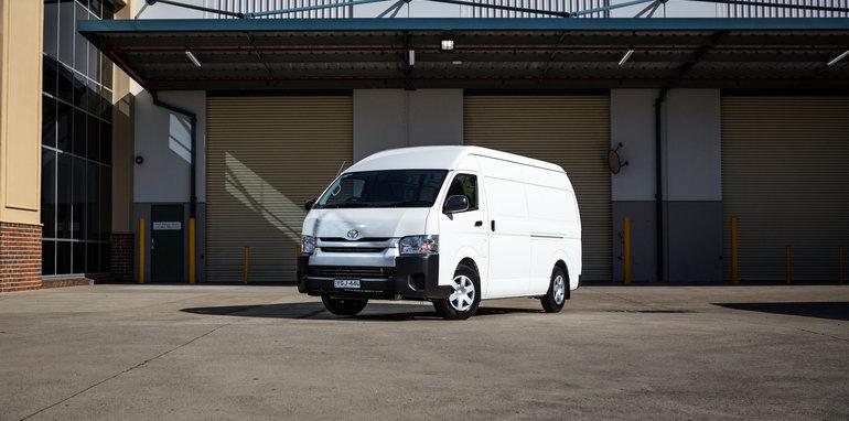 2016 Toyota HiAce SLWB van-1