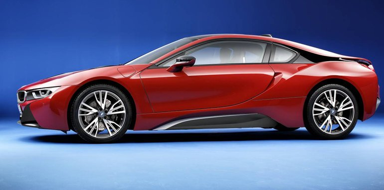BMW i8 Protonic Red Edition
