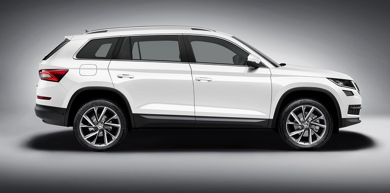 2017 skoda kodiaq seven seat suv revealed australian launch due next year. Black Bedroom Furniture Sets. Home Design Ideas