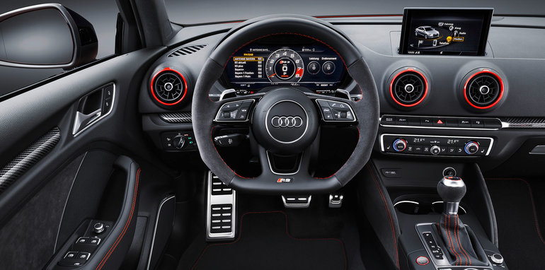 2017 Audi Rs3 Sedan Revealed With Tt Rs Five Pot Updated