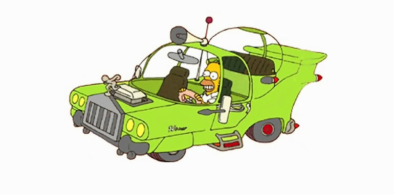 13scarycars_thesimpsons_thehomer