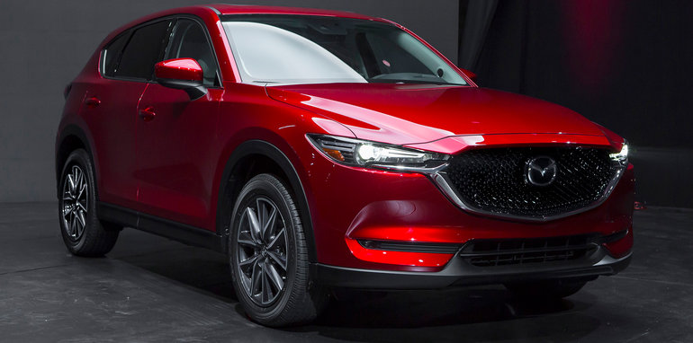 2017 mazda cx 5 unveiled in la. Black Bedroom Furniture Sets. Home Design Ideas