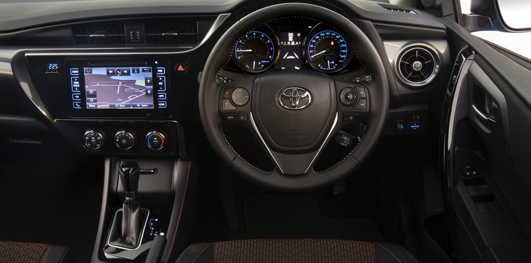 2017 Toyota Corolla SX hatch with safety pack.