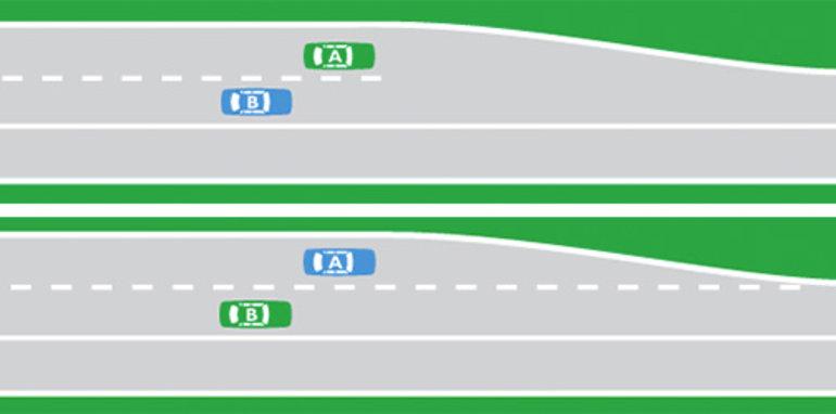 road-rule-lane-ending