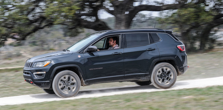 Jeep Compass Review Car And Driver