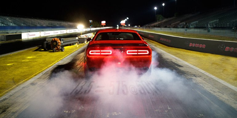 The 2018 Dodge Challenger SRT Demon combines the best of both me