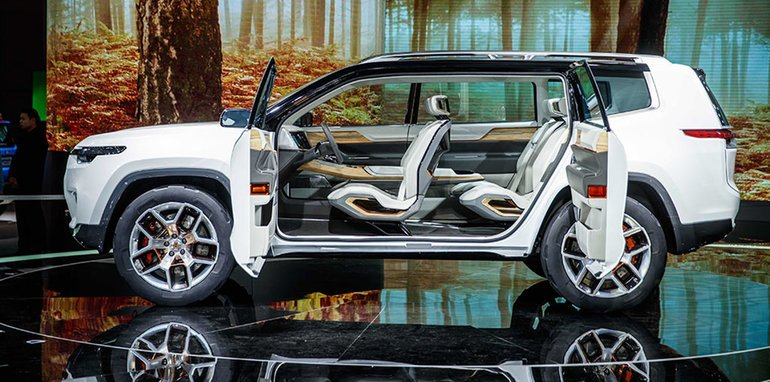 Jeep Yuntu: Three-row concept SUV unveiled in Shanghai