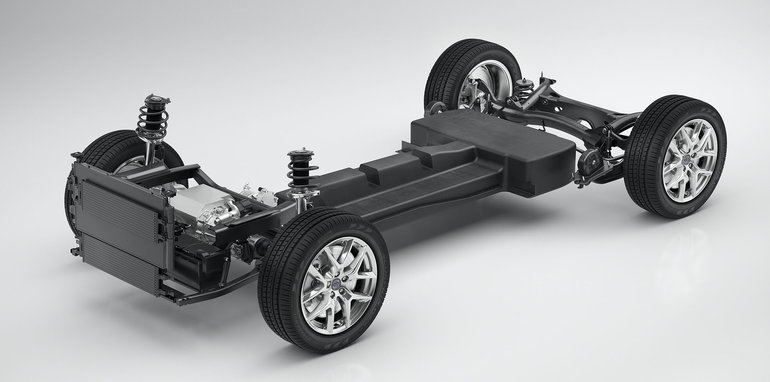 CMA Battery Electric Vehicle Technical Concept Study - 3/4 view
