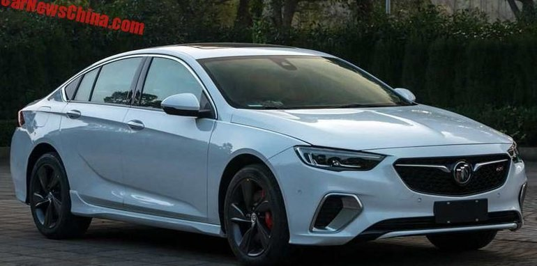 2018 Holden Commodore SS/VXR unveiled in Buick form – UPDATE