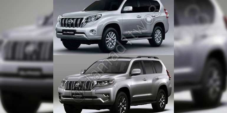 2018 Toyota Prado Facelift Leaked Update