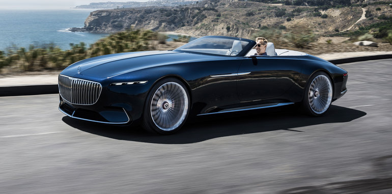 Mercedes Maybach Vision 6 Cabriolet Revealed
