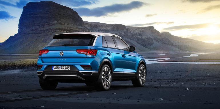 Tiguan 2017 Led Headlights >> 2018 Volkswagen T-Roc revealed