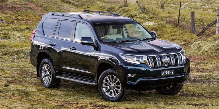 2018 Toyota Landcruiser Prado revealed: Here in November ...