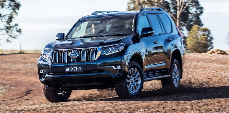 2018 Toyota Landcruiser Prado Revealed Here In November