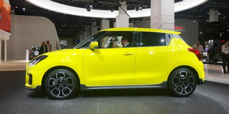 2018 Suzuki Swift Sport Details on best car wraps