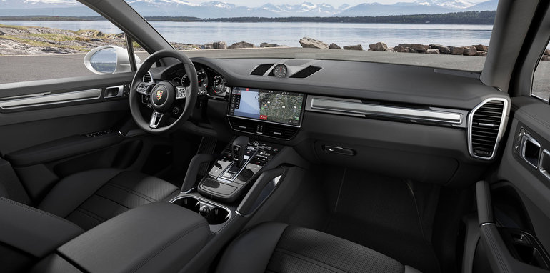 2018 Porsche Cayenne Turbo Revealed Here From Mid 2018