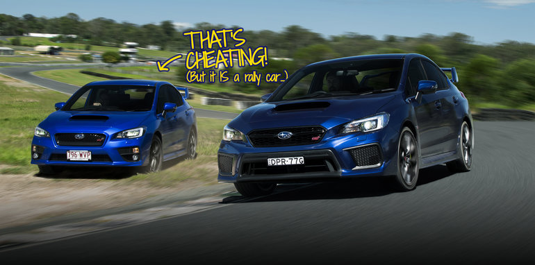 Thatu0027s A Concept I Donu0027t Explore Too Often, But Being On A Racetrack And In  The Driveru0027s Seat Of A Subaru WRX STI With A Professional Rally Driver Next  To ...