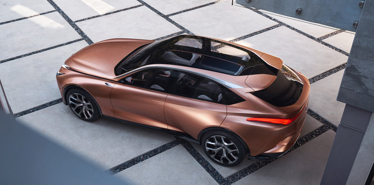 Lexus Lf 1 Limitless Crossover Concept Debuts In Detroit