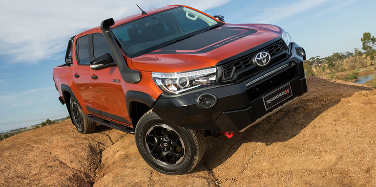 Upper James Toyota >> Toyota HiLux Rogue, Rugged, Rugged X announced for Australia