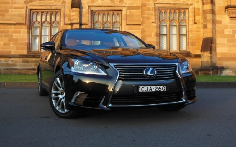 ls first autocar car review lexus drives