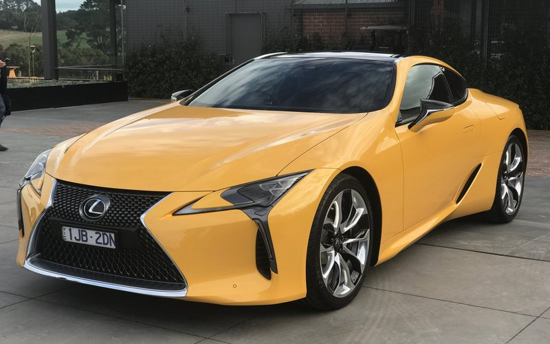 2017 Lexus Lc500 Lc500h Pricing And Specs Luxury Sports Flagship