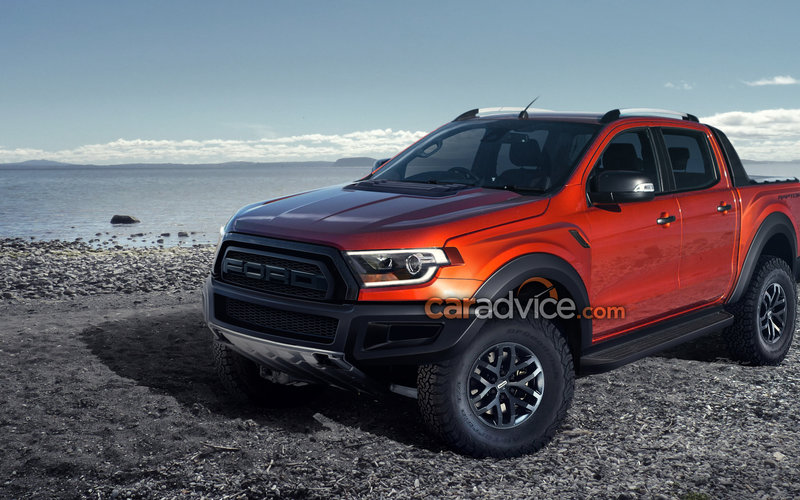 Ford Ranger Raptor To Be Revealed February 7 This Is How It Ll Look
