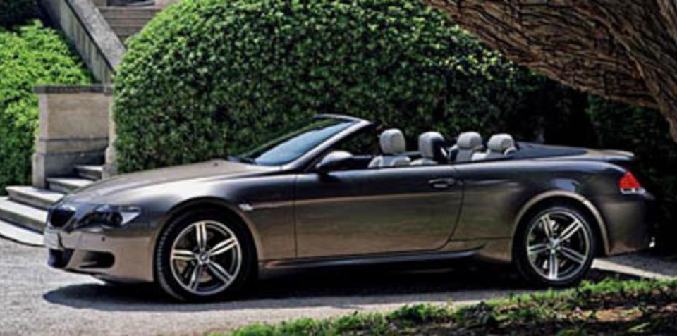 BMW M6 Cabrio Pictures