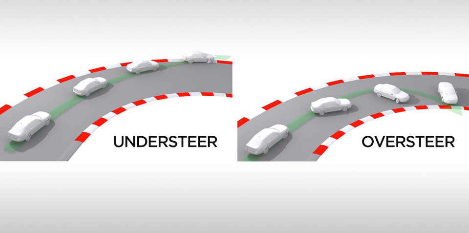 What is understeer and oversteer?