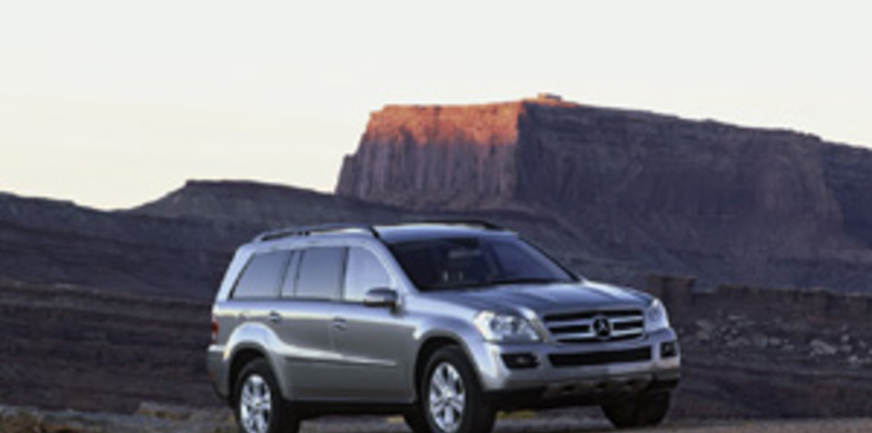 Mercedes Benz GL 320 CDI and GL 500