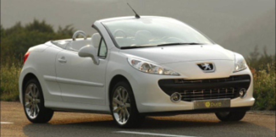 Peugeot 207 Epure CC Hydrogen-Powered