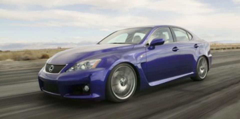 Lexus IS-F Series Update