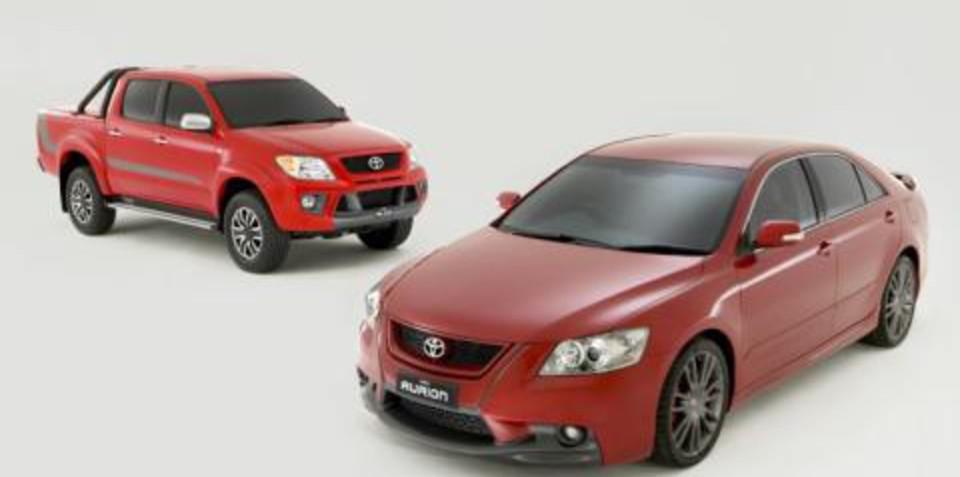 Toyota TRD Aurion HiLux Sports Vehicles