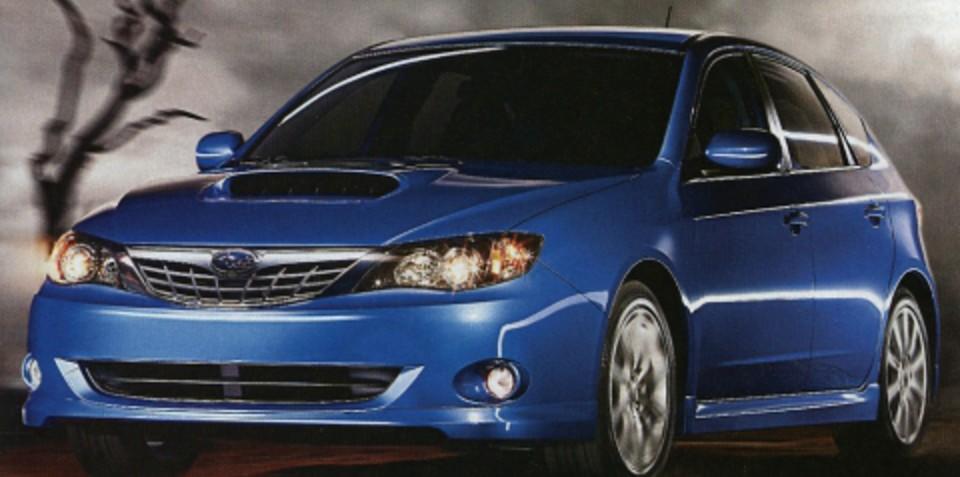 2008 Subaru Impreza WRX Images