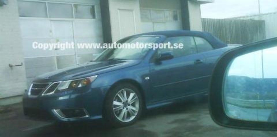 New Saab 9-3 Facelift Spy shots