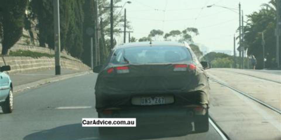 New Renault Laguna Spy Shots - Australia