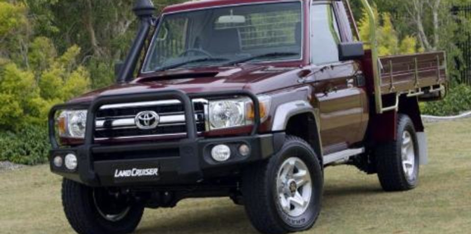 Toyota LandCruiser 70 Series Bullbar