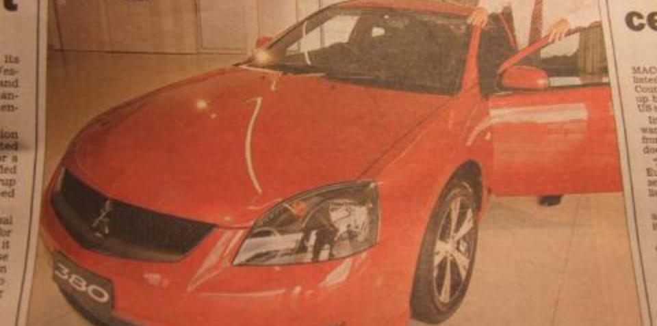 Herald Sun Leaks Embargoed Mitsubishi 380 Series III