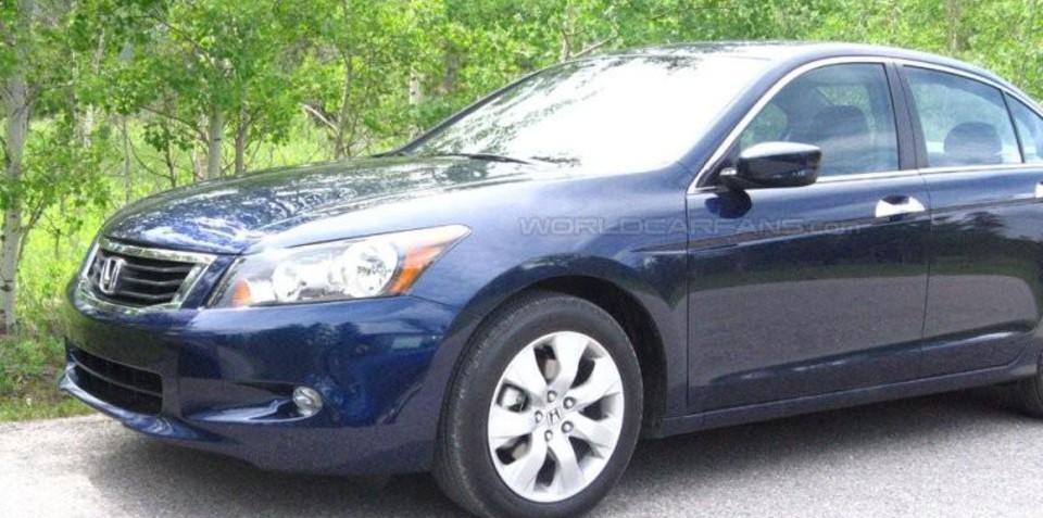 2008 Honda Accord Spyshots