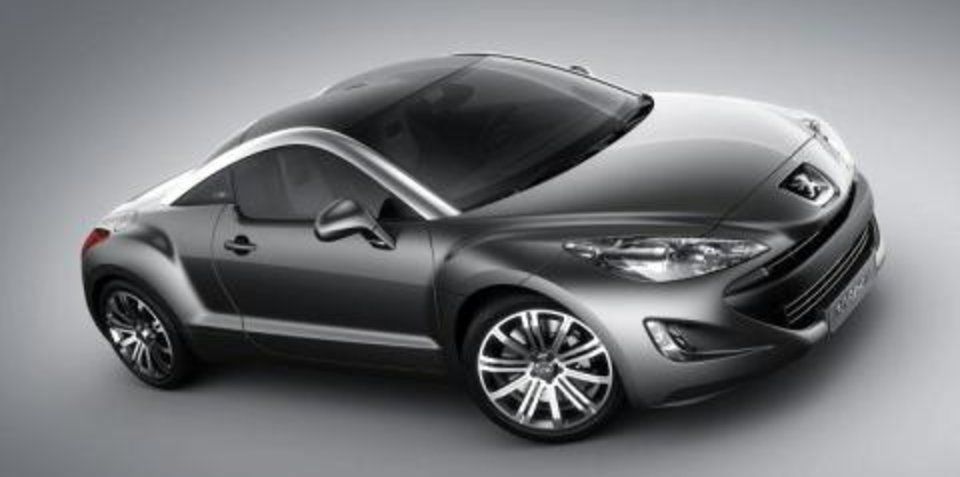 Peugeot RCZ confirmed for Australia