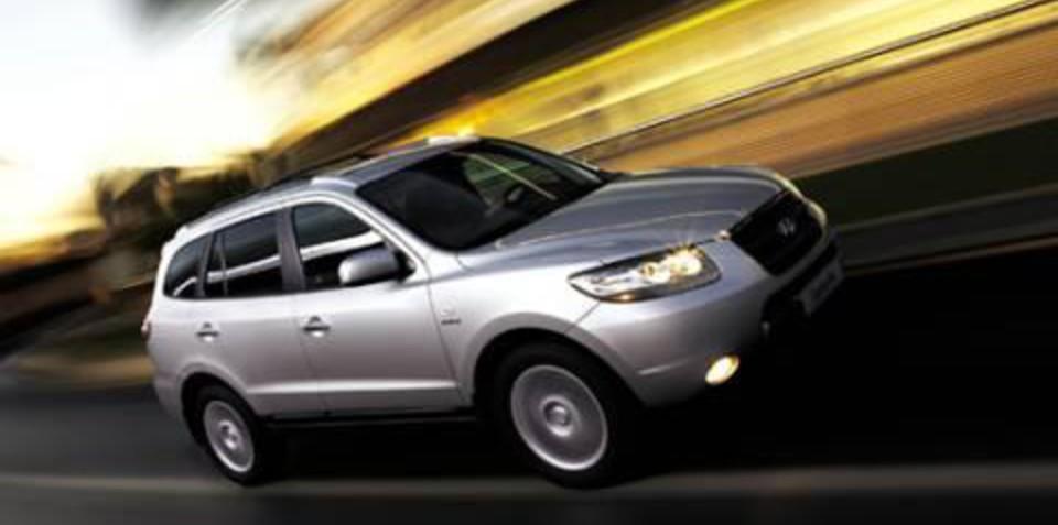 Hyundai Santa Fe Loses ESC